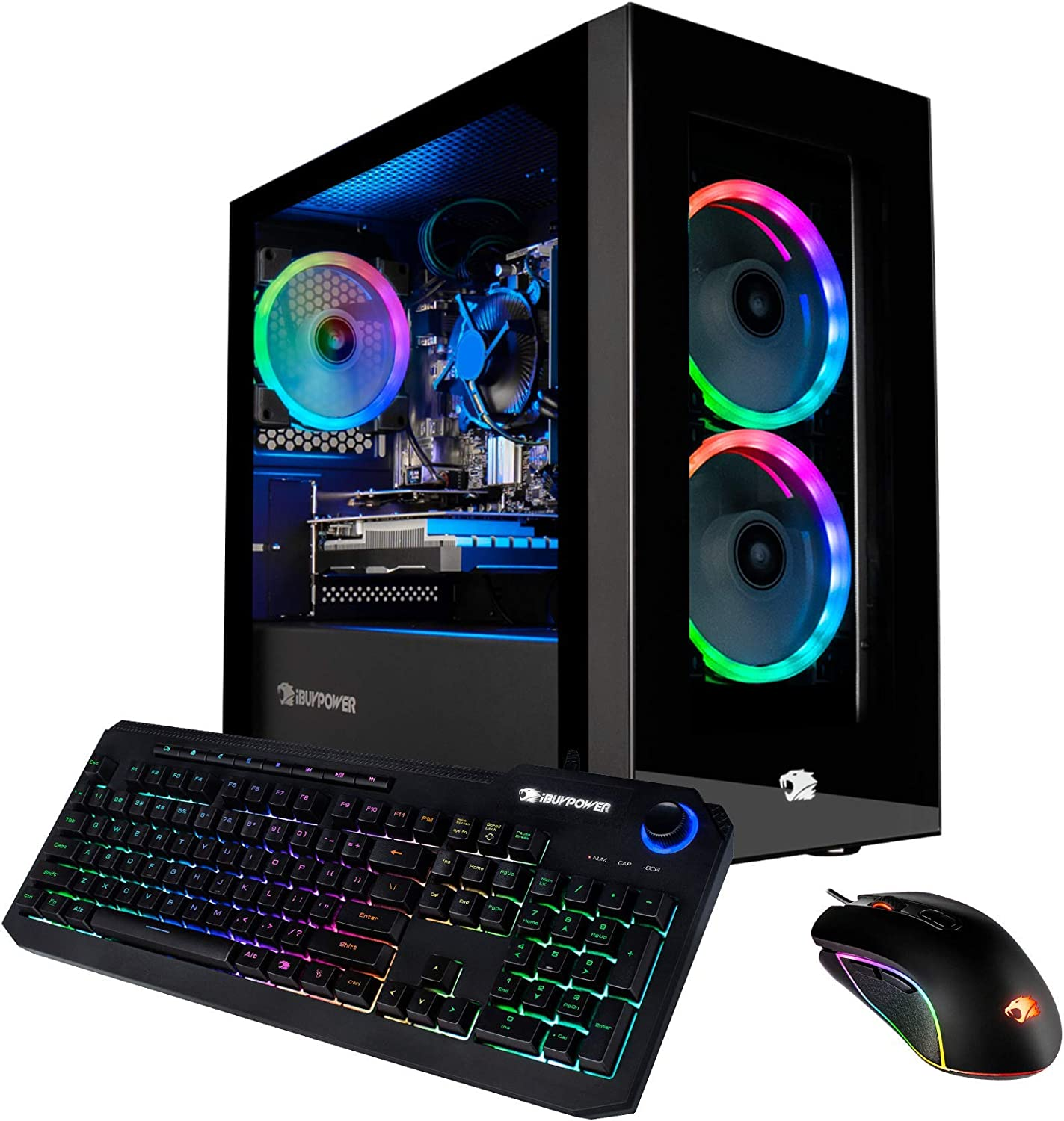 iBUYPOWER Pro Gaming PC Computer Desktop Element Mini 9300 (AMD Ryzen 3 3100 3.6GHz, AMD Radeon RX 550 2GB, 8GB DDR4 RAM, 240GB SSD, WiFi Ready, Windows 10 Home)