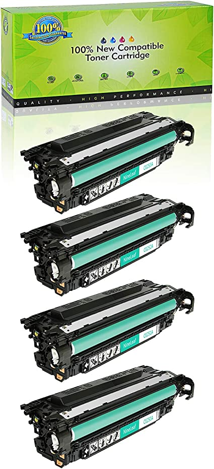 4 PK CE250A CE251A CE252A CE253A Color Toner Set For HP Laserjer CP3525n CM3530
