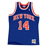 Anthony Mason New York Knicks Mitchell & Ness NBA Swingman HWC Jersey - Blue
