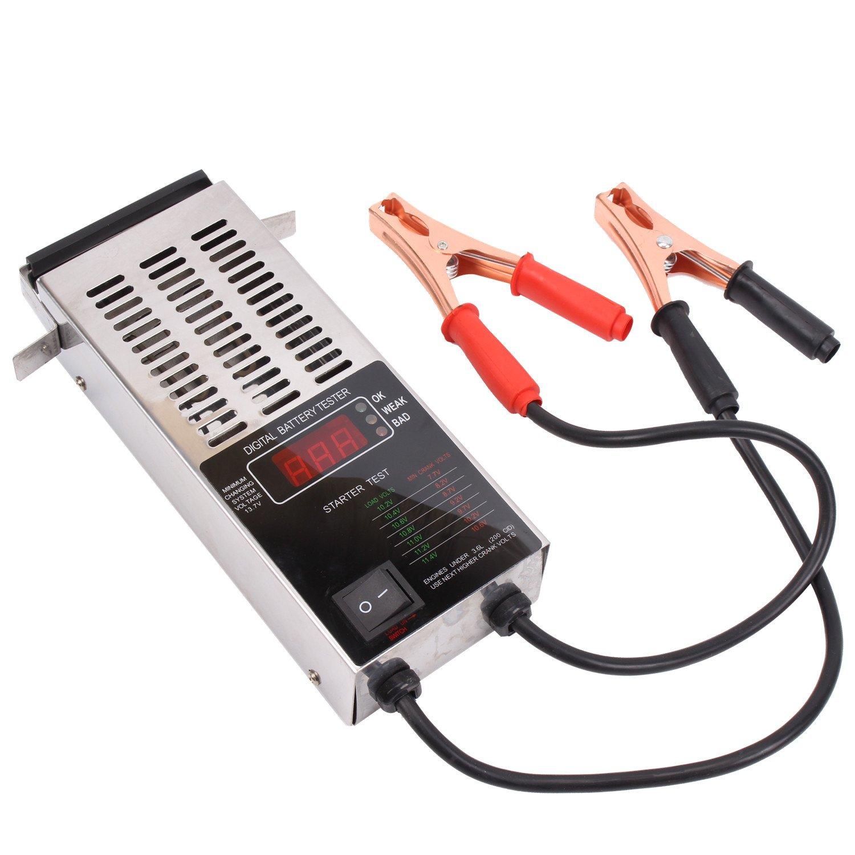 12V KFZ LCD Digitaler Batterietester Batterie Tester Batterieprü fer 100 Ampere CCLIFE