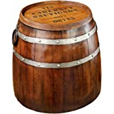 Design Toscano French Wine Barrel Side Table