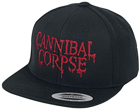 Cannibal Corpse Dripping Logo Cap Black  Amazon.co.uk  Clothing 9ed1a3711c4e