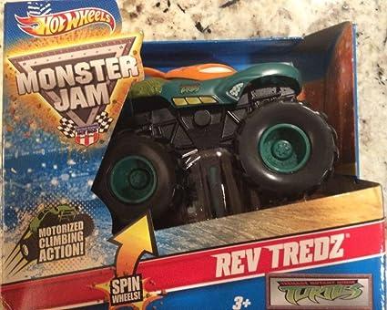 Amazon.com: Hot Wheels Monster Jam Rev 43) teenage mutant ...
