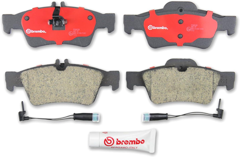 New Brembo Disc Brake Pad Set Rear P54052N for Mitsubishi Lancer