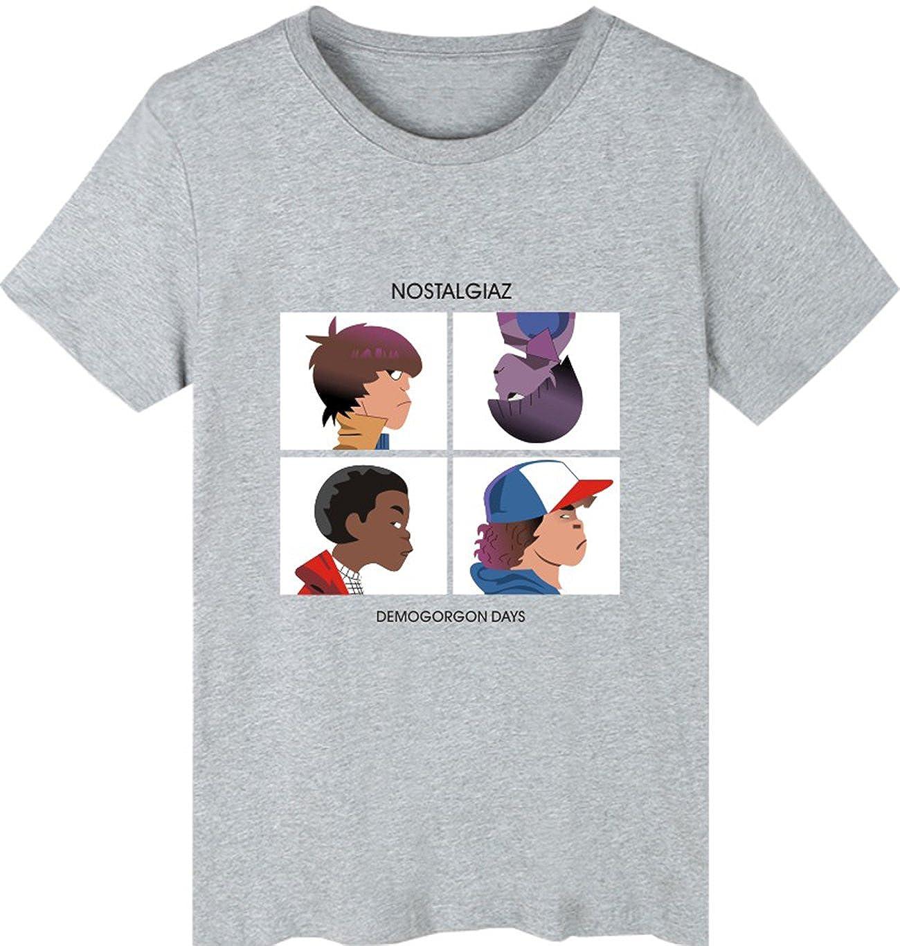 SERAPHY Unisex Stranger Things T-Shirt Estate Tshirt per Donne e Uomini Hip Hop t Shirt