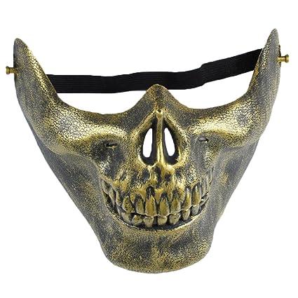Cosanter - Máscara de esqueleto, con diseño de calavera, para caza, usar como