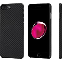 pitaka Minimalist iPhone 8 Plus/iPhone 7 Plus Case (Black/Grey)