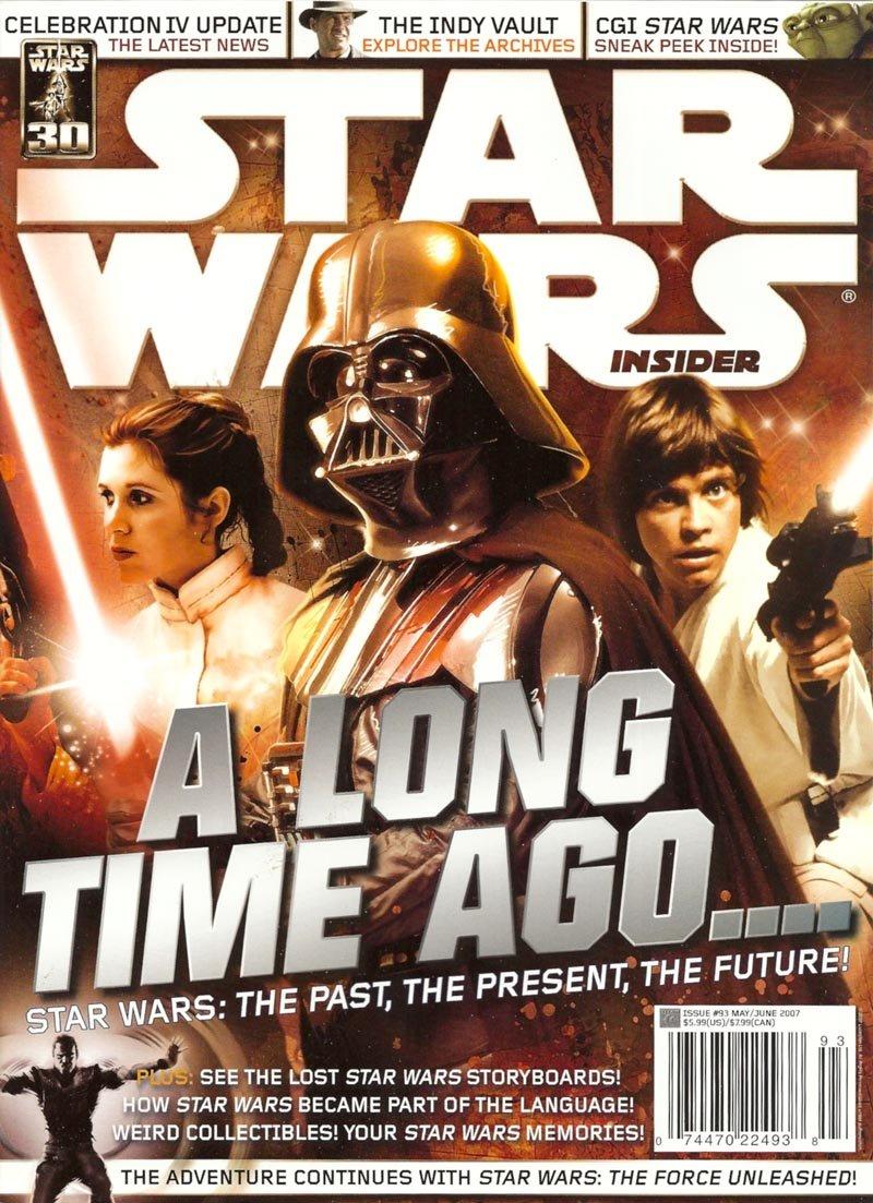 Star Wars Insider Magazine Issue 93 May/June 2007 ebook