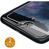 iPhone 7/ iPhone 8 Pellicola Protettiva IZUKU 2 Pack Pellicola Vetro Temperato Screen Protector Film Ultra Resistente (0.26mm HD Alta Trasparenza) per iPhone 7/ iPhone 8