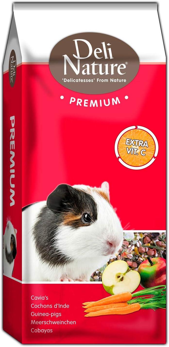 DELINATURE Mixtura Premium para Cobayas, 3 kg, Pequeños Mamíferos