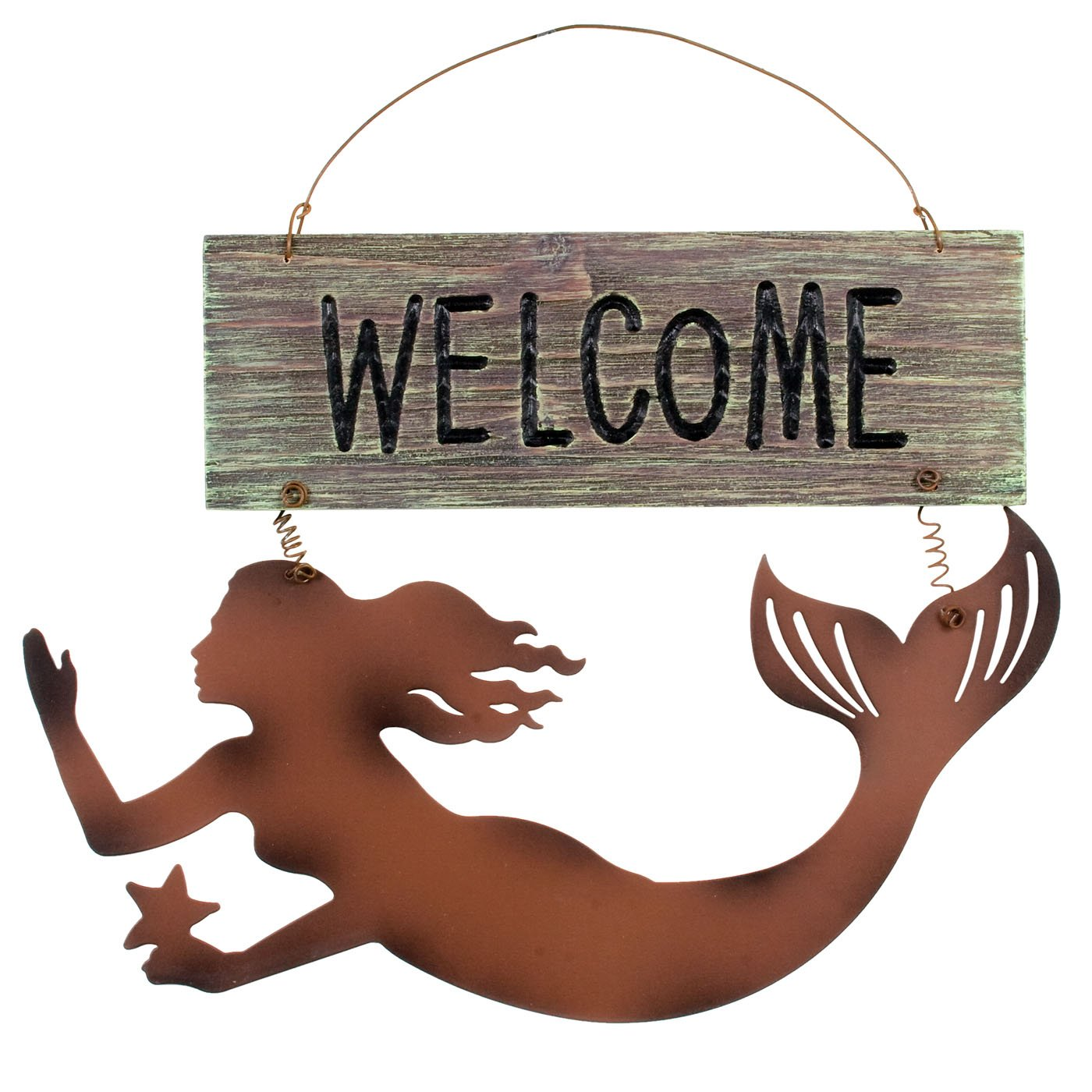 Ohio Wholesale Mermaids Welcome Sign from Our Water Collection 33541
