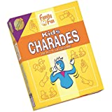 Charades for Kids - An Imaginative Classic Party Game for Young Children - Features 50 Cards With 300 Charades (Ages 8+)