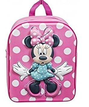 5e2d3431668 Sambro Minnie Mouse EVA Junior Backpack  Amazon.co.uk  Toys   Games