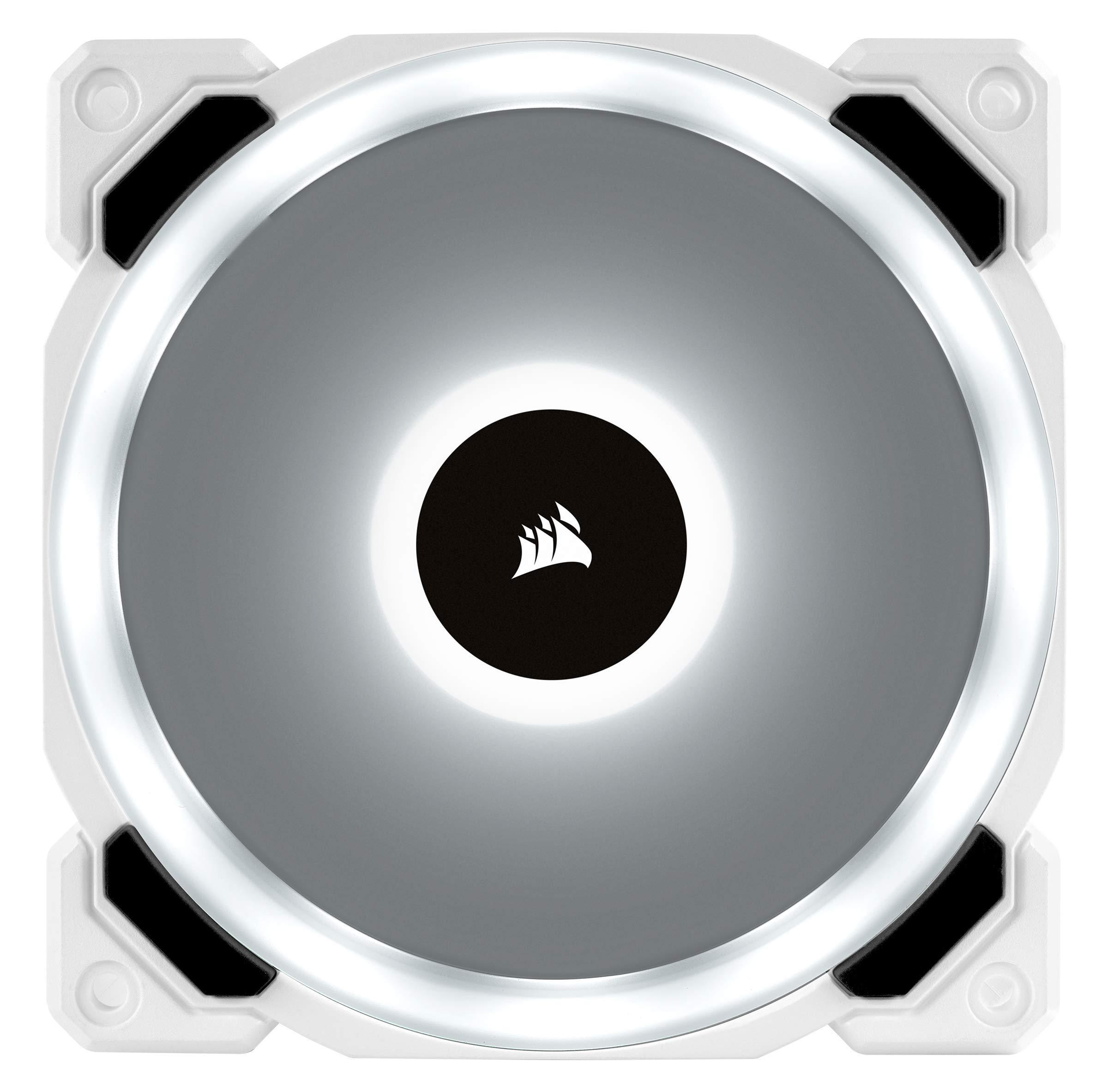 CORSAIR LL Series, LL120 RGB, 120mm RGB LED Fan, Triple Pack with Lighting Node PRO- White by Corsair (Image #14)