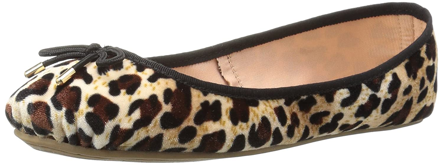 LFL by Lust for Life Women's Tinker Ballet Flat B074RC73Q5 10 B(M) US|Leopard