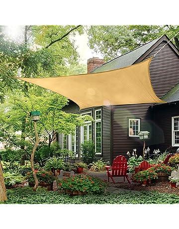 Amazon Com Shade Sails Patio Lawn Garden
