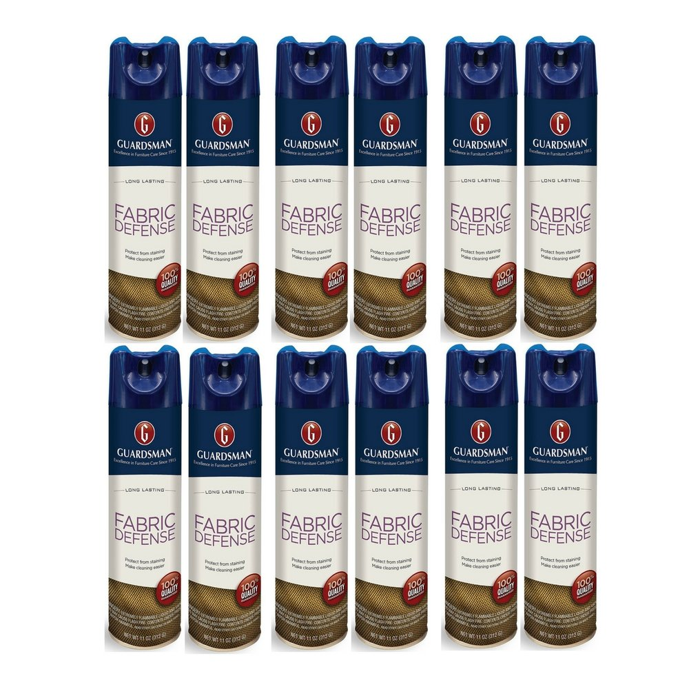 Guardsman Fabric Defense - Fabric & Upholstery Protection - 11 oz (12 Pack)
