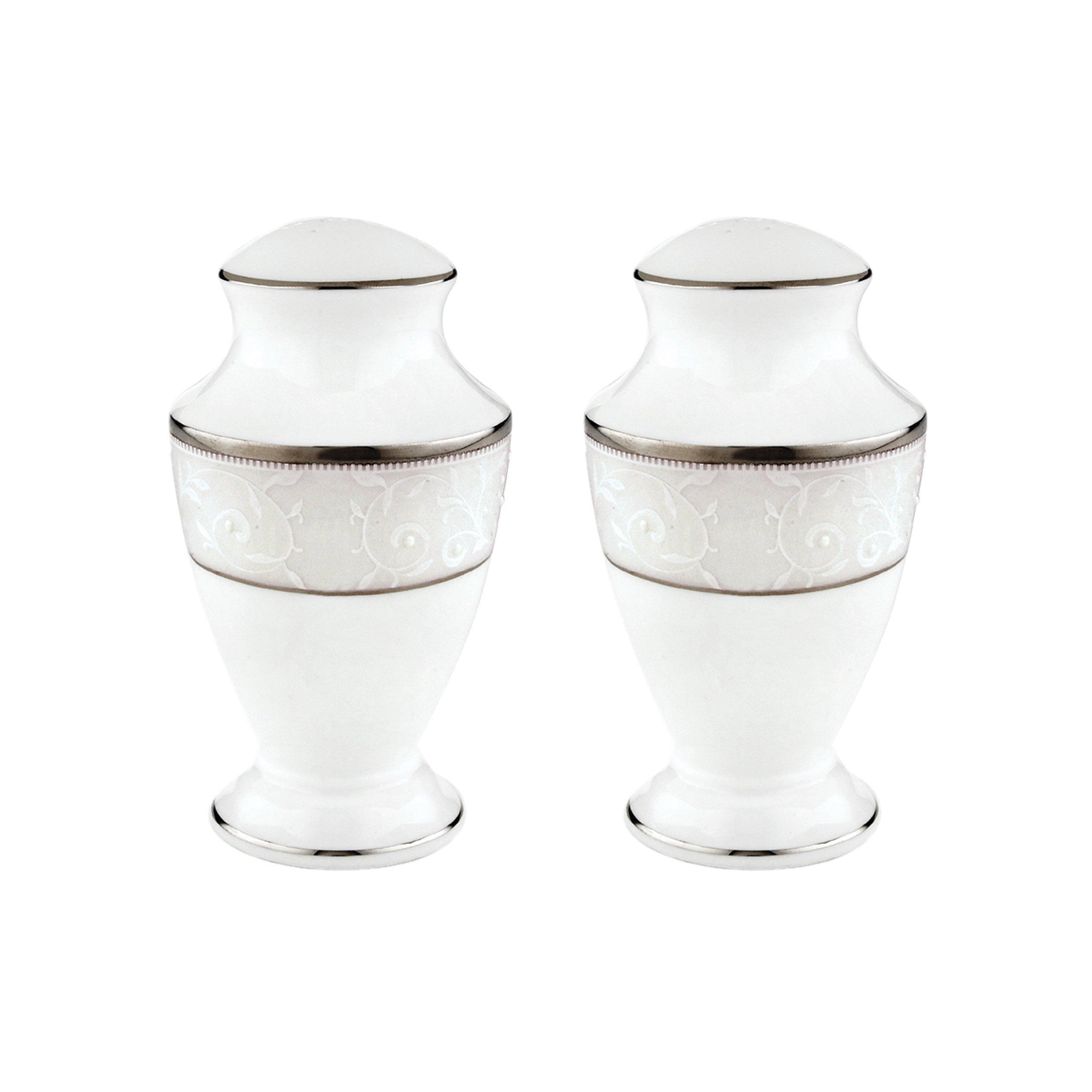 Lenox Opal Innocence Salt and Pepper Set, White by Lenox