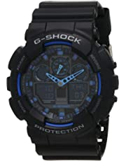 GSHOCK Men's Automatic Wrist Watch analog-digital Display and Resin Strap, GA100-1A2