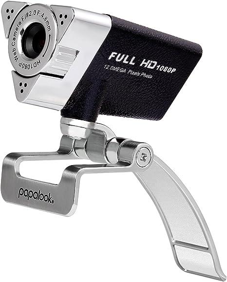 Webcam 1080p Hd Kamera Mit Noise Cancelling Mikrofon Für Skype Papalook Usb Webkamera Für Live Streaming Und Youtube Videokamera Für Konferenz