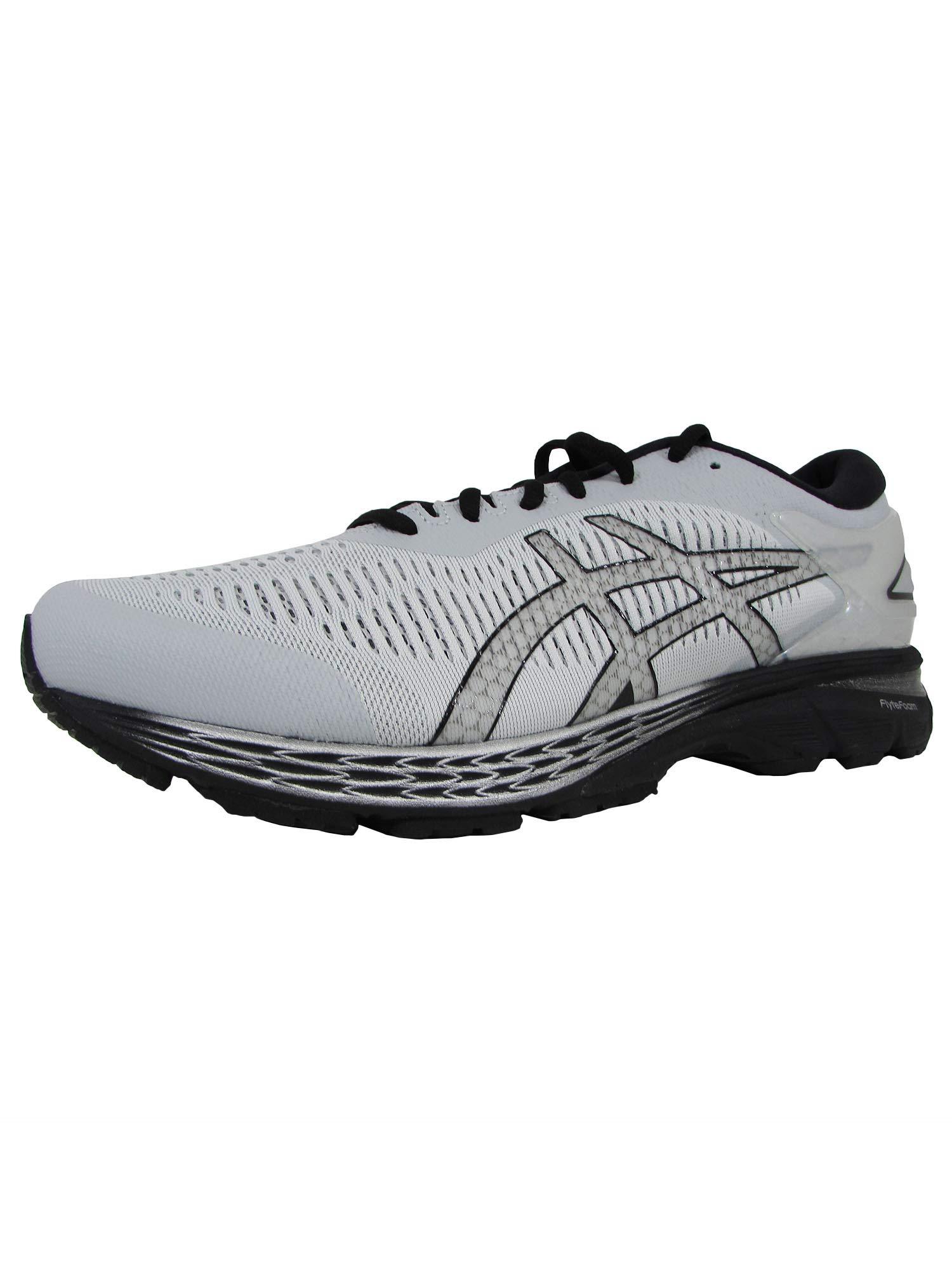 29e35a5f4d ASICS Gel-Kayano 25 Men's Running Shoe, Glacier Grey/Black, 15 4E US