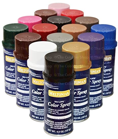 Meltonian Nu Life Color Spray Leather Plastic Vinyl Paint