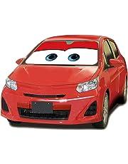 MFEIR Disney Car Red Parasol Protector Solar para la Parabrisa Delantera del Coche Cubierta Protectora contra Rayos Ultravioletas para el Vehículo en Verano