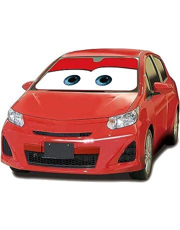 MFEIR Disney Car Red Parasol Protector Solar para la Parabrisa Delantera del Coche Cubierta Protectora contra