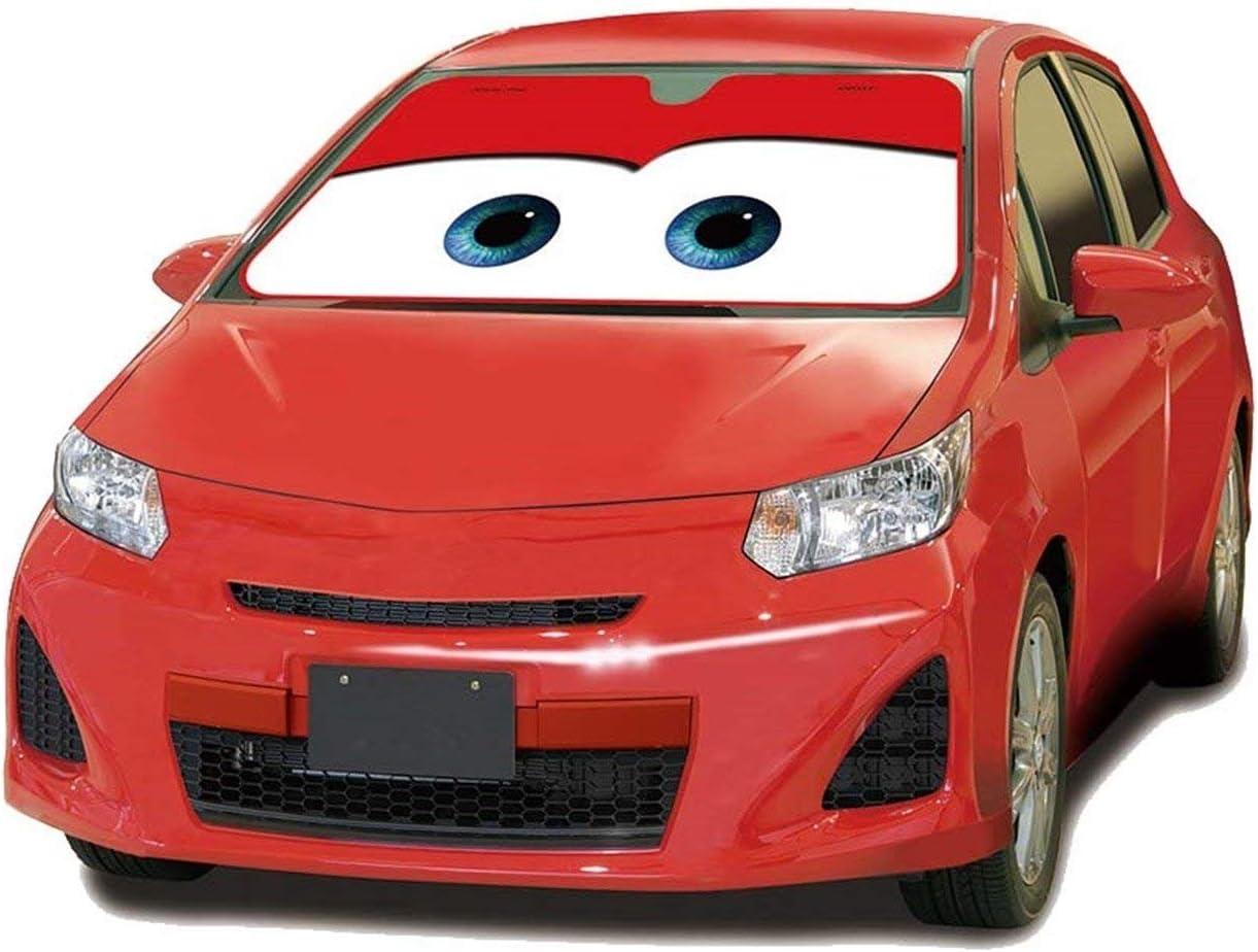 Mfeir Disney Car Red Auto Sonnenblende Sonnenschutz Frontscheibe Blendschutz Windschutzscheibe Schattenspender Autozubehör Im Sommer Auto