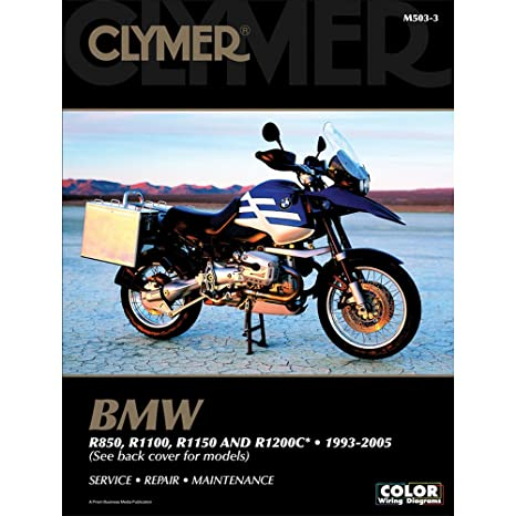 amazon com clymer bmw r850 r1100 r1150 r1200c 1993 2005 rh amazon com 2003 BMW R1150RT Motorcycle For a 2003 BMW R1150RT Motorcycle Battery