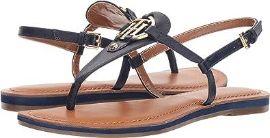 61ce0e5cc Tommy Hilfiger Women s Genei Blue Leather 10 B(M) US  Buy Online at ...