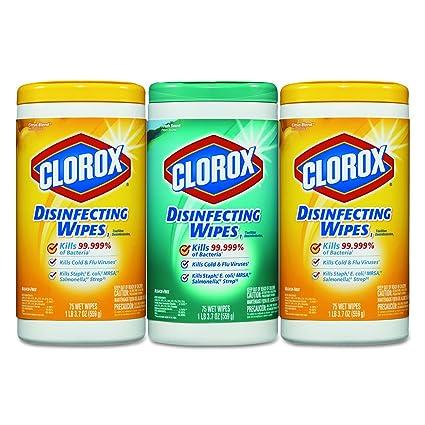 amazon com clo30208pk clorox disinfecting wipes home kitchen