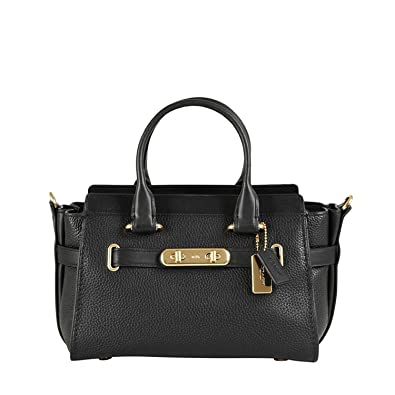 COACH Womens Coach Swagger Carryall 27 In Pebble Leather