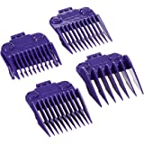 Andis 01410 Master Dual Magnet Small 5-Comb Set Designed For MBA, MC-2, ML, PM-1 And PM-4, Purple