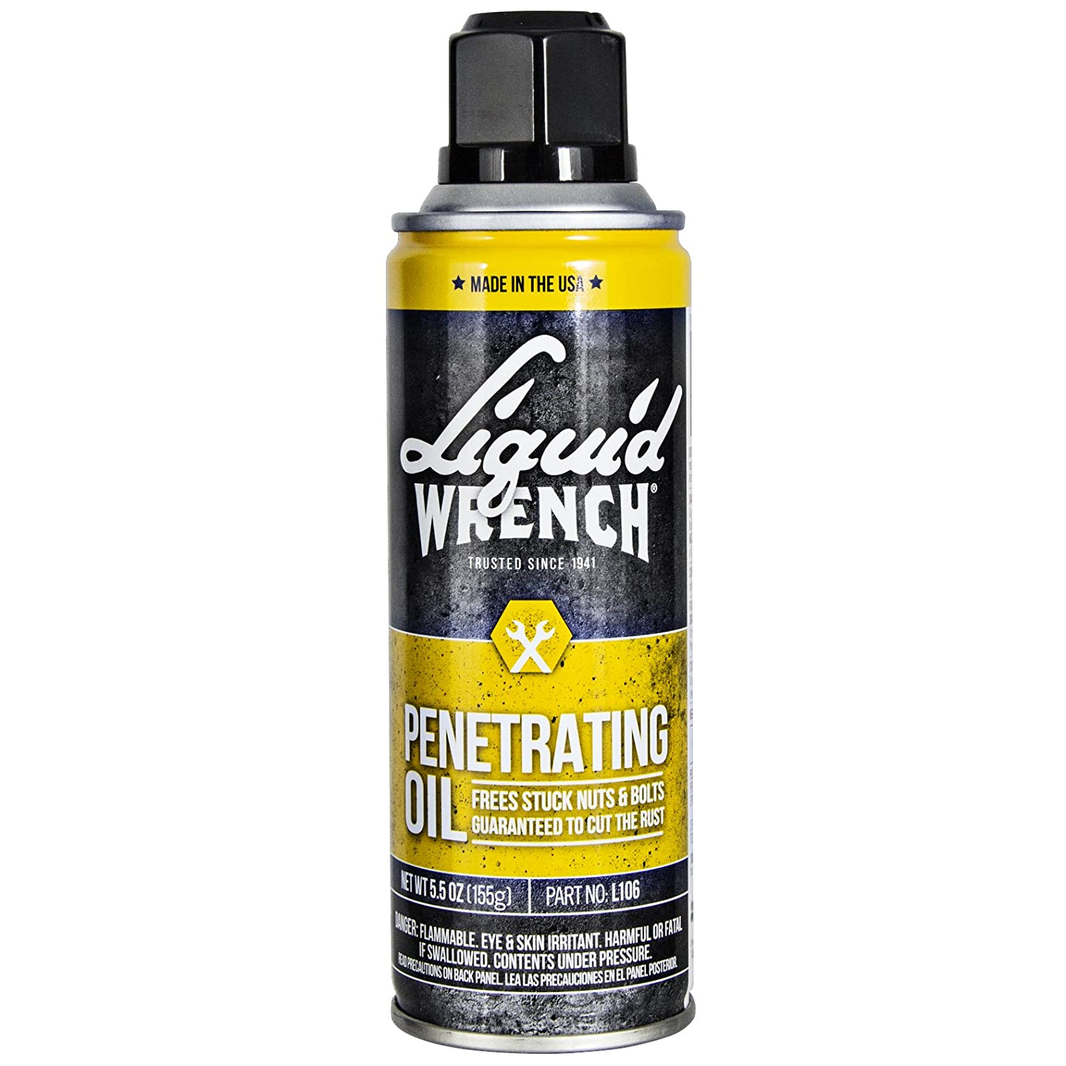 1. Liquid wrench penetrating the oil