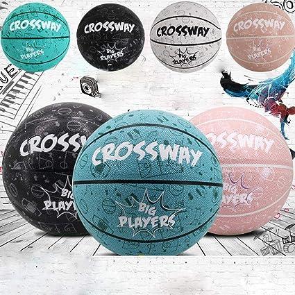 TOMMY LAMBERT - Balón de Baloncesto estándar n.º 7 de Piel ...