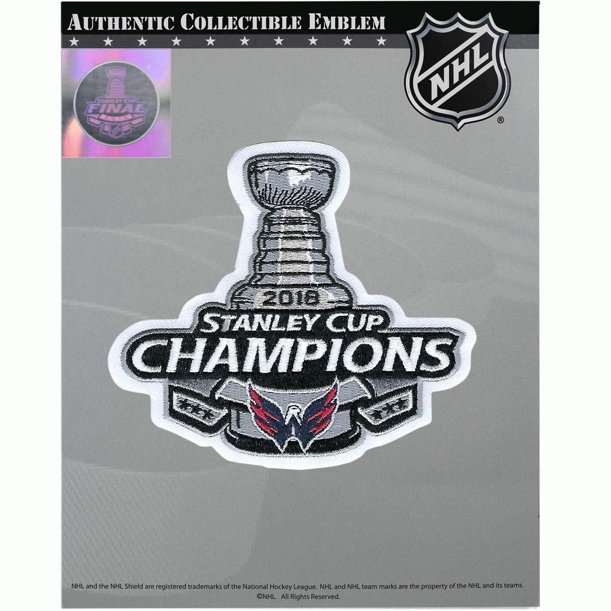 separation shoes d01da 434d2 National Emblem 2018 NHL Stanley Cup Final Champions Washington Capitals  Jersey Patch