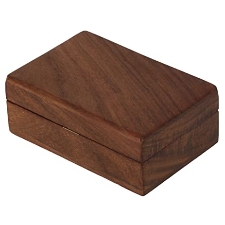 Amazoncom Wooden Trinket Jewelry Box Sleek and Simple Gift for