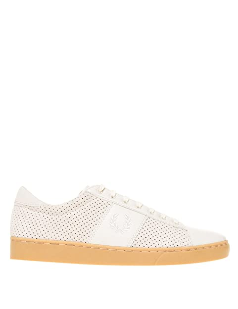 b238eb5658cf3 Fred Perry Men's Spencer Perforated Suede Sneakers: Amazon.ca: Shoes ...