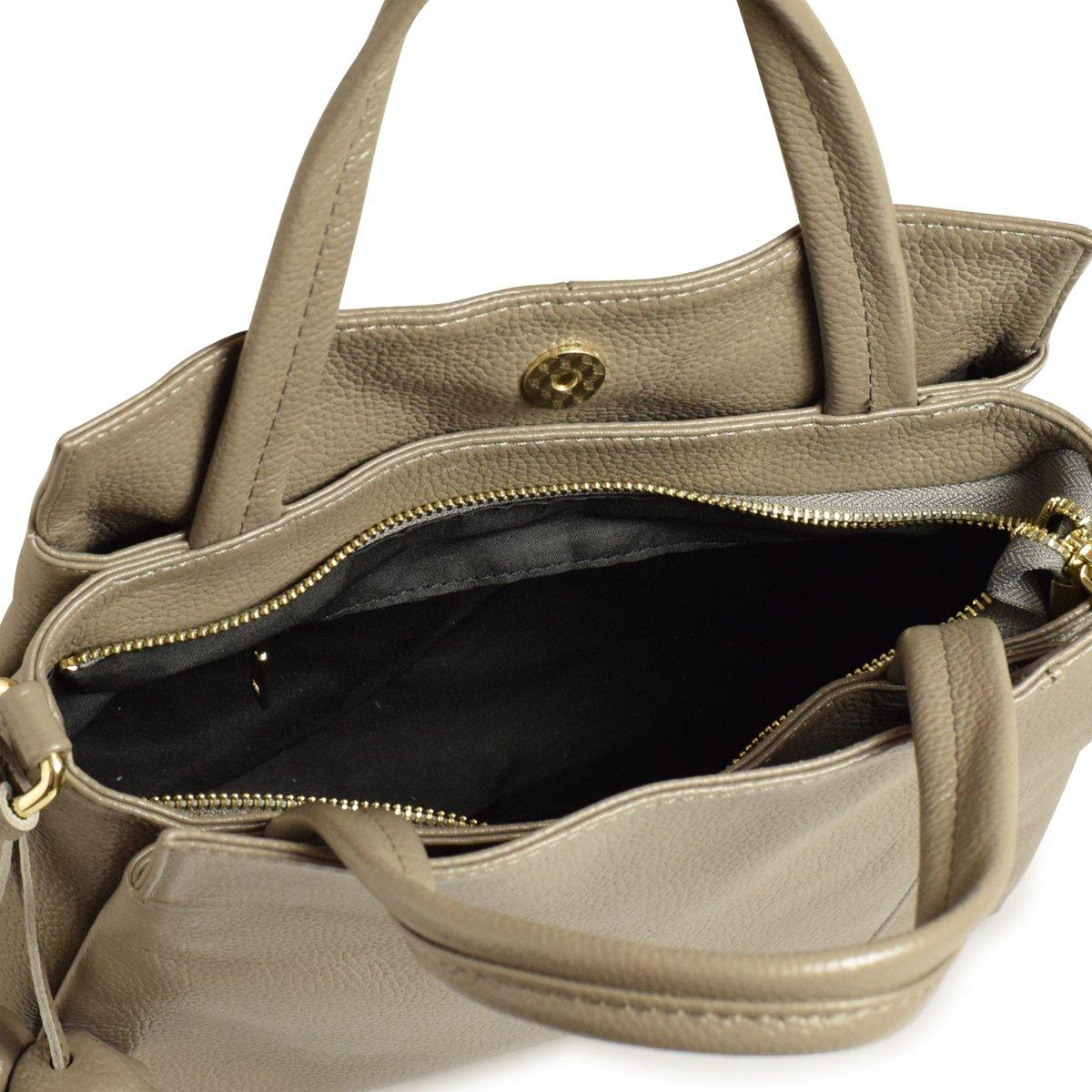 3c106074bb25 Amazon   バルコス BARCOS リアルレザー ハンドバッグ 2way 本革 レディース   ハンドバッグ