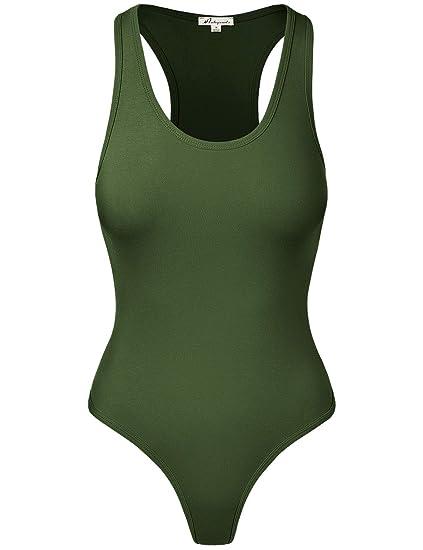 HATOPANTS Women s Jumpsuit Racerback Tank Top Bodysuits at Amazon ... 625871d99