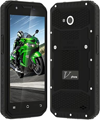 Rugged Smartphone IP68 resistente al agua a prueba de polvo a prueba de golpes 4500 mAh batería de 5.0 pulgadas Android 5.1 MTK6735 1.3 GHz Dual SIM GPS Cellphone: Amazon.es: Electrónica