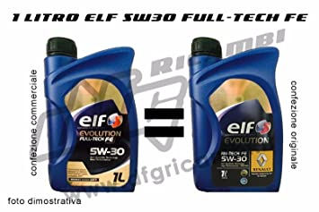 1 lt Aceite Elf Evolution rn-tech Fe 5 W30 - rn720 Acea C4 ...