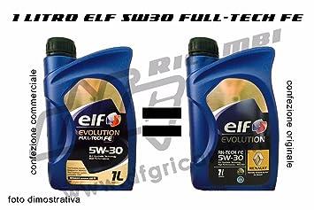 1 lt Aceite Elf Evolution rn-tech Fe 5 W30 - rn720 Acea C4 ...