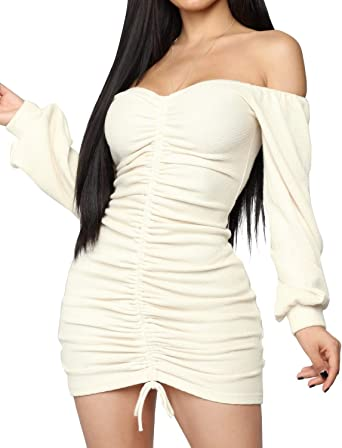 Made in USA M Black Cream Off-the-Shoulder Summer Cocktail Party Dress S L