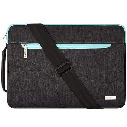 MOSISO Funda Protectora Compatible con 2019 MacBook Pro 16 A2141/15-15.6 MacBook Pro/Surface HP Acer ASUS de Portátil, Bolsa de Hombro Blanda Maletín ...