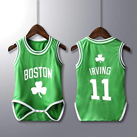 new arrival 97af0 73824 Kangrui Basketball Jersey Baby Romper Bodysuits Toddler Clothing Sleeveless  Breathable Vest Comfortable Wear Quickly Drying