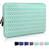 13.3 14 Inch Thickest Lightest Laptop Sleeve, Zikee Water Resistant Neoprene Protective Laptop Case for Lenovo/HP/Dell/Acer/Asus/MSI/Medion (Chevron)