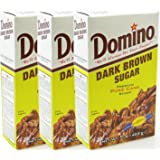 Domino Dark Brown Sugar 1Lb. Box (3-Pack)