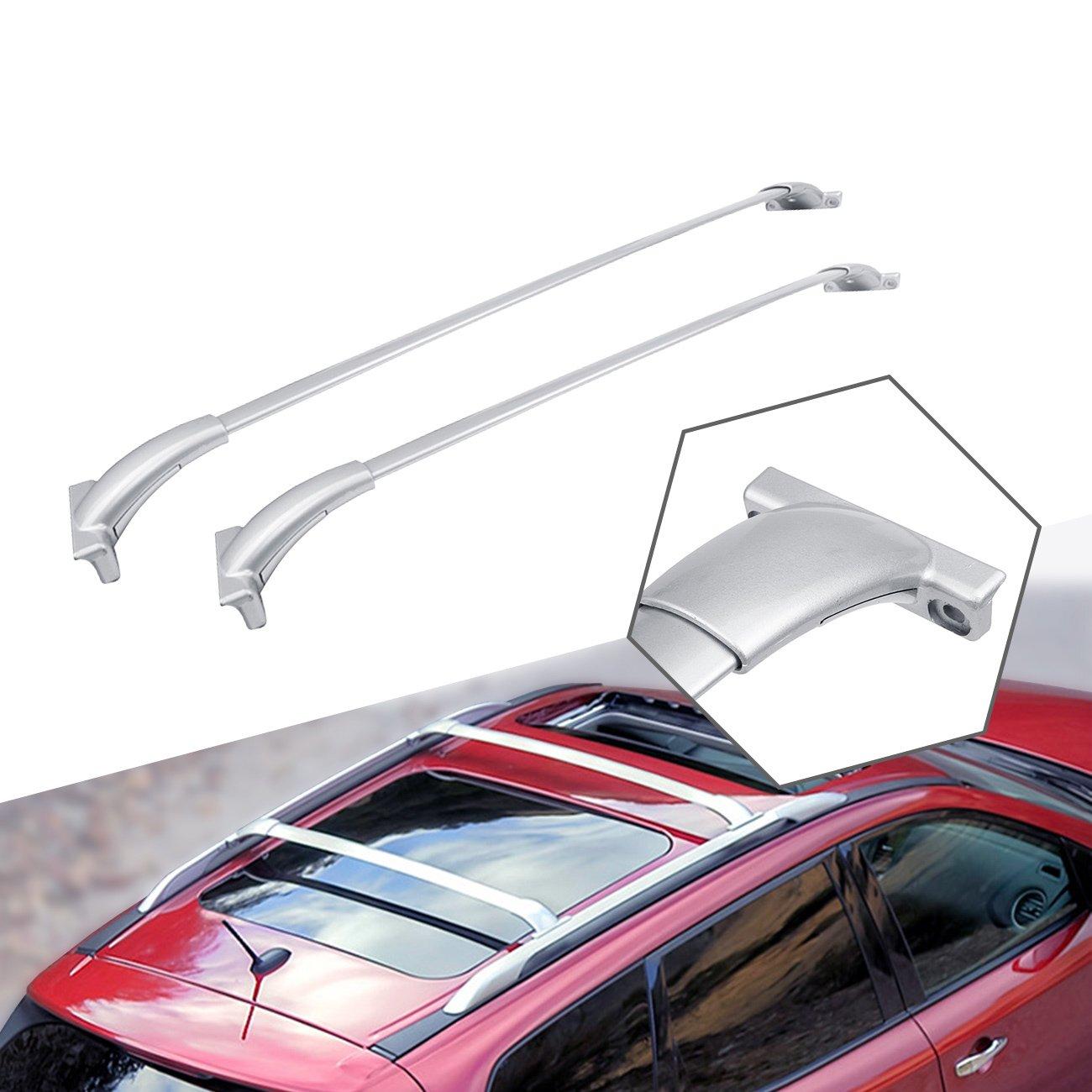 ALAVENTE Roof Rack Cross Bars for 2013-2017 Nissan Pathfinder Crossbar Roof Top Rail Rack (Silver)